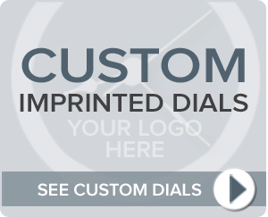 Custom Imprinted Dials
